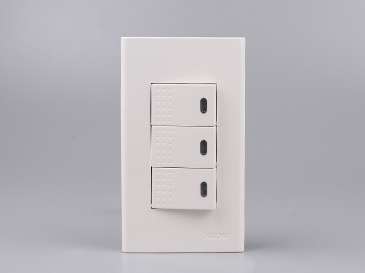 2 Gang 3 Way Switch,Multi-function Types Of Lamp Switches,Pc ...