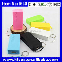 keychain 5500mah external portable universal mobile power bank 6000mah emergency charger for samsung