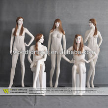 new arrival realistic lady mannequin group