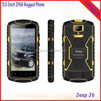 High Quality Jeep J6 5.0 inch Smart Phone Military Rugged IP68 Waterproof Smartphone
