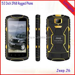 High Quality Jeep J6 5.0 inch Smart Phone Military Rugged IP68 Waterproof Smartphone