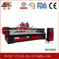 High stability with servo motor cnc router machine for sponge , foam