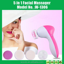 New Products Deep Clean Face Massager, 5 In 1 Face Massager With Brush , Beauty Care Face Massager