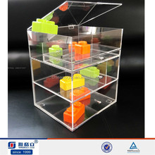 Use Widely Storage Makeup,Jewelry,Cosmetic,beauty,cloth,food--Clear Acrylic Cosmetic Floor Display Stand