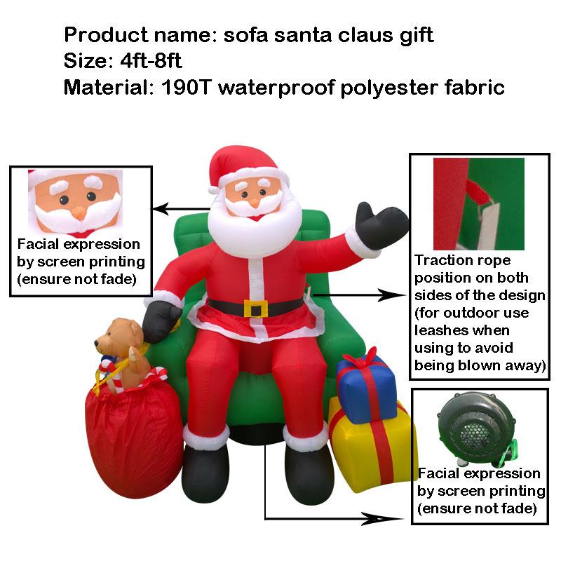 Decoration de noel gonflable a vendre - Cadeau de noel a vendre ...
