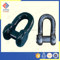BLACK D TYPE JOINING SHACKLE FOR ANCHOR CHAIN