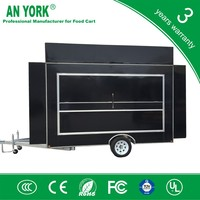 FV-55 best mobile food cart food catering trailers fast food car for sale