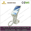 Retail charger Secure Alarming plastic cell phone stand