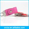 fashion portable 128MB-64GB full capacity leather usb disk usb flash 2.0