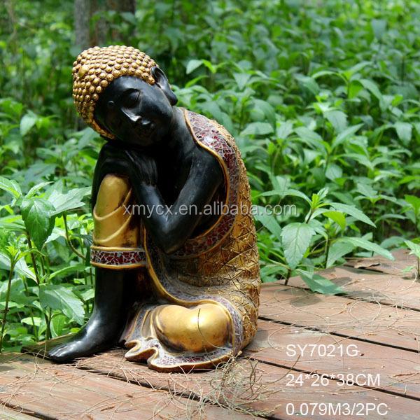 R sine statue de bouddha moderne jardin sculpture - Statue moderne pour jardin ...
