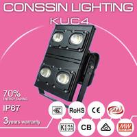 high waterproof IP67 250W led flood light UL,SAA,CB approved stadium used