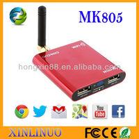 Internet television box MK805 Allwinner A10 Android 4.0 Mini TV Box Google Media Box