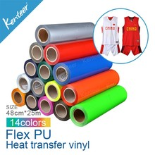 Alibaba China Kenteer Flex PU Wholesale heat transfer vinyl/heat transfer film