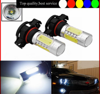2015 hot sale high power top quality white amber H16 5202 PSX24W 12V 11w led fog light for car toyota wholesale manufacturer