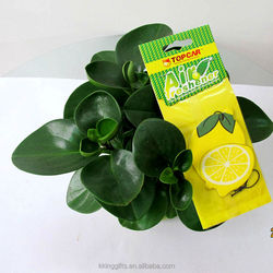 Hot selling wholesale hanging california scents paper car air freshener
