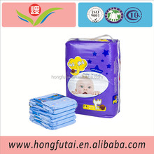 Natural & Healthy Disposable Fluff Pulp Soft Breathable Sleeping Baby Diapers