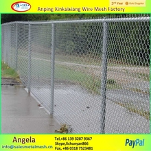 pvc coated chain link fence cage