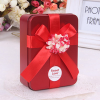2014 new design tin box / wholesale tin chocolate box / milk powder or christmas gift and aerosol tin box