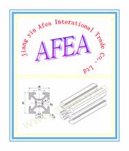 2015 AFEA supply 6063 aluminum extrusion profiles,aluminium extruded frame