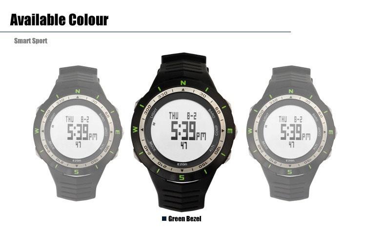 ezon watch H005A12 50M Waterproof Outdoor Climbing Multi-function Digital Hiking Climbing sports Watches