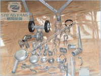 hot dipped galvanized chain link fence accessories
