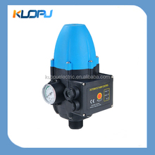 Electric water pump pressure auto switch with adjustabling pressure function