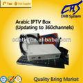 Árabe iptv set top box