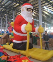 Popular christmas advertising products decoration inflatables