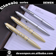 Printed Logo Stylus Pen, Twist Action Metal Pen