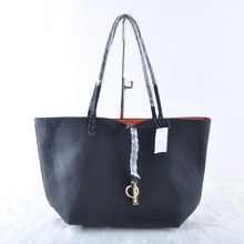 Imitation Brand Design Bag Ladies Fashion PU Big Handbag