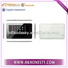"""2012 Hot Selling Allwinner A10 7"""" Capacitive 3G Tablet JX-004X"""