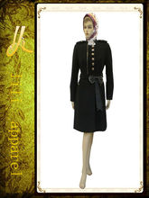 100% cálido abrigo de algodón para mujer al por mayor a7937 modelo