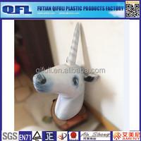 Inflatable Unicorn Head, Inflatable Animal Head Wall Decoration