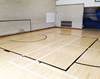 Maple Sports Wood Flooring for Basketball Court or Dance Room
