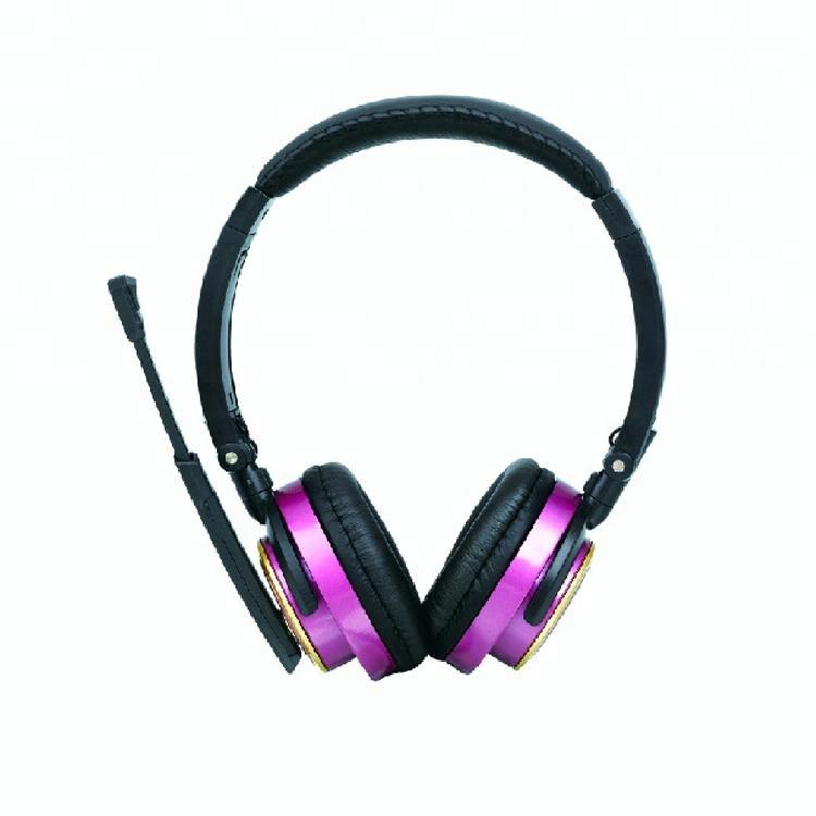 Alta calidad 3,5mm auriculares discoteca silenciosa para el teléfono móvil y el ordenador