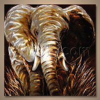 Newest Style Decorative Aluminium Metal Wall Art, Modern Aluminium Print Painting