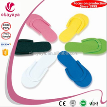 2015 High Quality Custom made disposable eva slippers and sandals for women