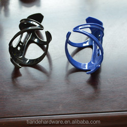 plastic bike bottle cage, colourful bottle cage,mountain bicycle bottle cage
