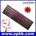 venta al por mayor de alibaba de ru de reemplazo de diseño de teclado del ordenador portátil para asus n50 n51 n61 f90 n90 serie