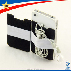 direct factory promotional gifts customized cell phone sticker card holder