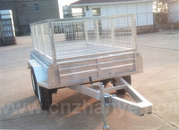self filling mobile water tank trailer horse coach