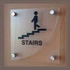 Acrylic trasparent wall mounted plastic door sign holder wholesale