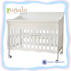 2015 new design with high quality solid wood cot/baby bed