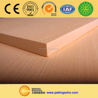 SUPERHOT Extruded Polystyrene (XPS) Insulation Foam Board with Peel Removed/Plane