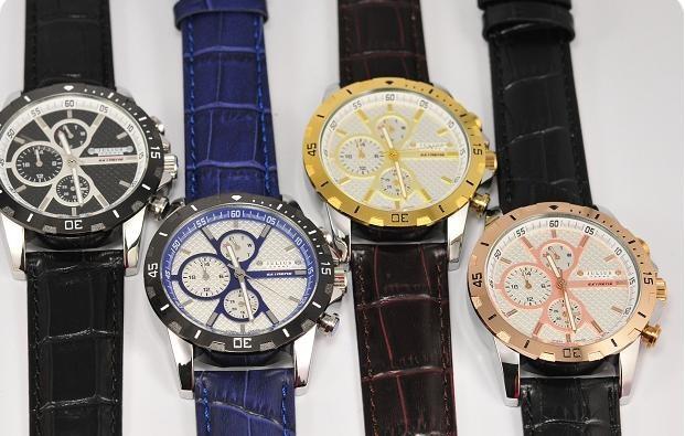 Julius Men's Homme Wrist Watch Japan Quartz Hours Best Fashion Bracelet Leather Band Boy Birthday Father's Day Gift JAH-056