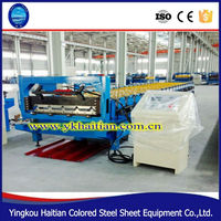 Color IBR Sheet Metal Roofing Tile Machine Price