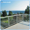 tempered glass fence panels with factory price