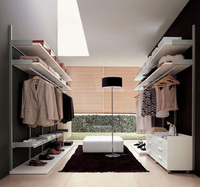 Practical fashion wardrobe dressing table designs in cheap price