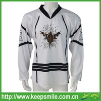Custom Sublimation Fitted Ice Hockey Clothing for Jersey