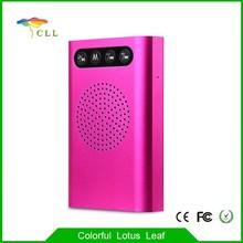 Best selling 5200mAh power bank bluetooth speaker With A Grade Ploymer Battery